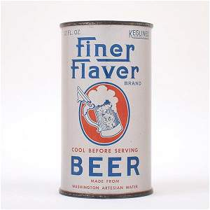 Finer Flaver ACTUAL OI 270 Beer Can 63-19