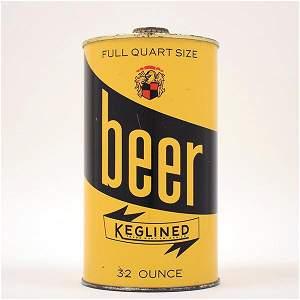 KEGLINED BEER SAMPLE Quart NL