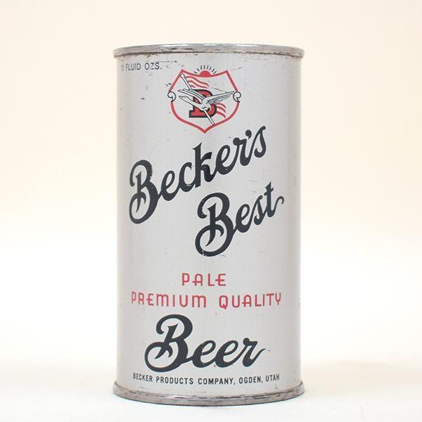 Beckers Best Beer OI Flat Top 35-25