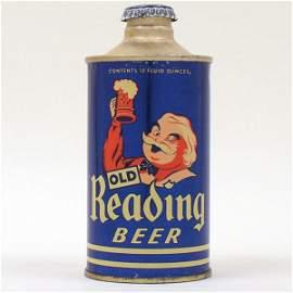 Old Reading Beer GUS Cone Top SWEET! 176-30