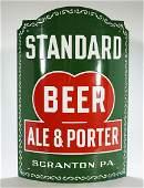 Standard Beer Ale Porter Porcelain Corner Sign