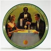 Harvard Export Green Label Pre-proh Beer Tray