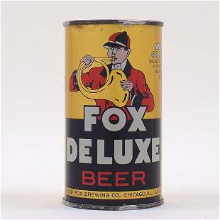 Fox DeLuxe Beer 1ST KEGLINED OI 65-4