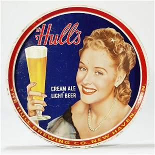 Hulls Cream Ale Light Beer Tray