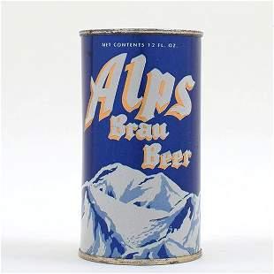 Alps Brau Beer Flat Top 30-7