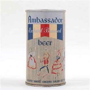 Ambassador Beer Zip Top 33-13