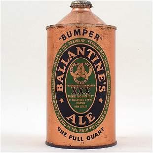 Ballantines Ale Quart Cone Top BREWS 202-6