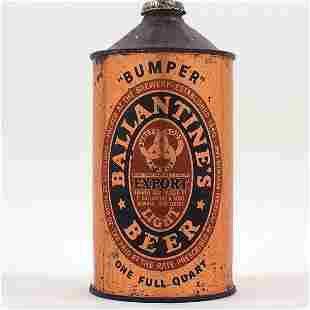 Ballantines Beer Quart Cone WORLDS FAIR 202-13