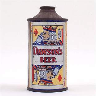 Dawsons BEER Card Cone RARE 159-3