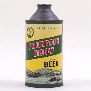 Fountain Brew Beer Cone Top STRONG 163-22
