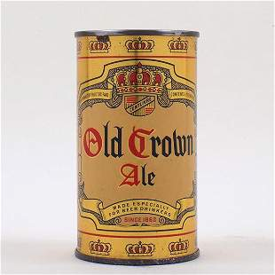 Old Crown Ale Instructional Flat Top 104-37