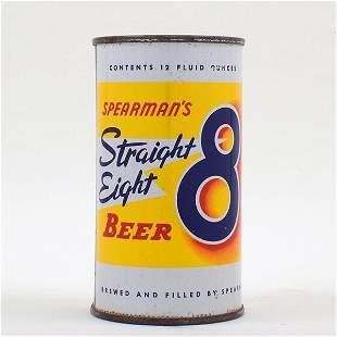 Spearmans Straight 8 Beer Flat Top 134-34