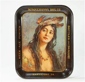 Susqeuhanna Brewing Native American Maiden Ioneta Beer
