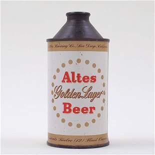 Altes Golden Beer Cone Top 150-11