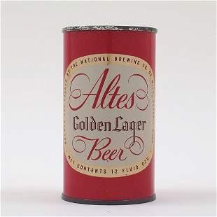 Altes Golden Beer Flat Top ENAMEL 31-4