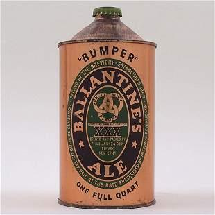 Ballantines Ale 1840-1940 Quart Cone 202-8