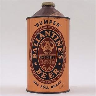 Ballantines Beer 1840-1940 Quart Cone 202-14