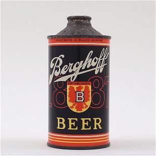 Berghoff Beer Cone Top ESTABLISHED 151-21