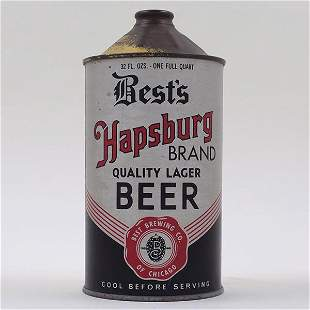 Bests Hapsburg Quart Cone SILVER 203-2