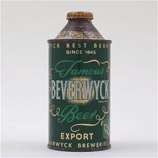 Beverwyck EXPORT Beer Cone Top WDRAWN FREE 152-16