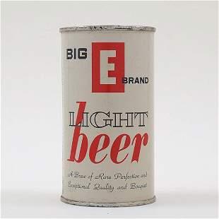 Big E Brand Beer Flat Top 37-6