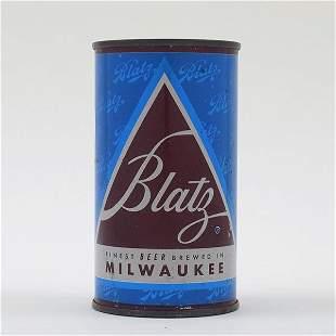 Blatz Beer CHRISTMAS SET CAN DK BLUE 39-12
