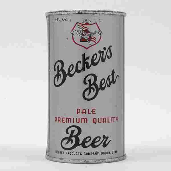 Beckers Best Beer Flat Top 35-26
