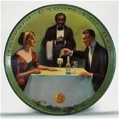 Harvard Export Beer Black Waiter Table Scene