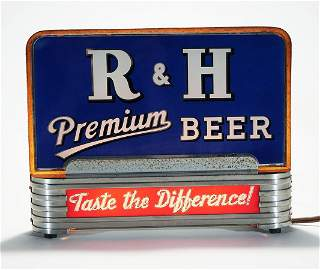 Rubsam Horrmann Illuminated Back Bar Sign