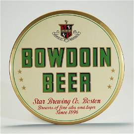 Bowdoin Beer Star Brewing HOLY GRAIL BUTTON Sign