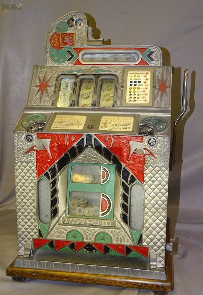 5 Cent Mills 1931 Slot Machine