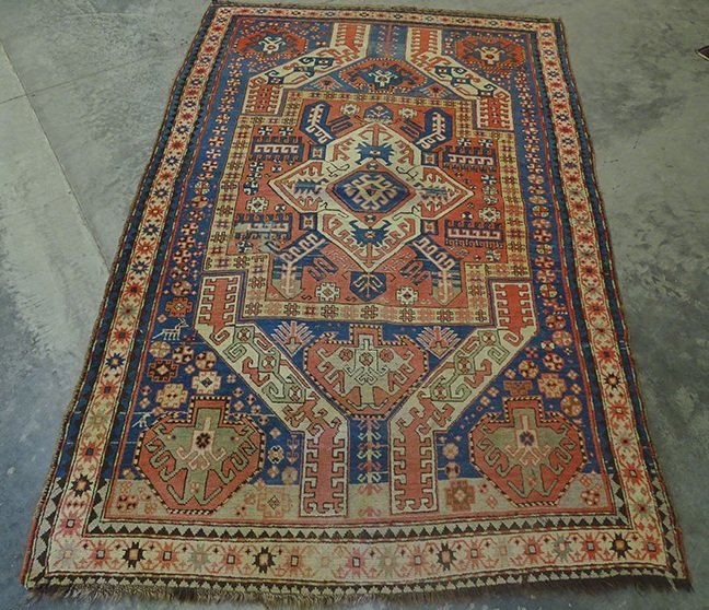 Early Oriental Rug (Kazak)
