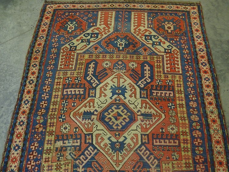 Early Oriental Rug (Kazak) - 2