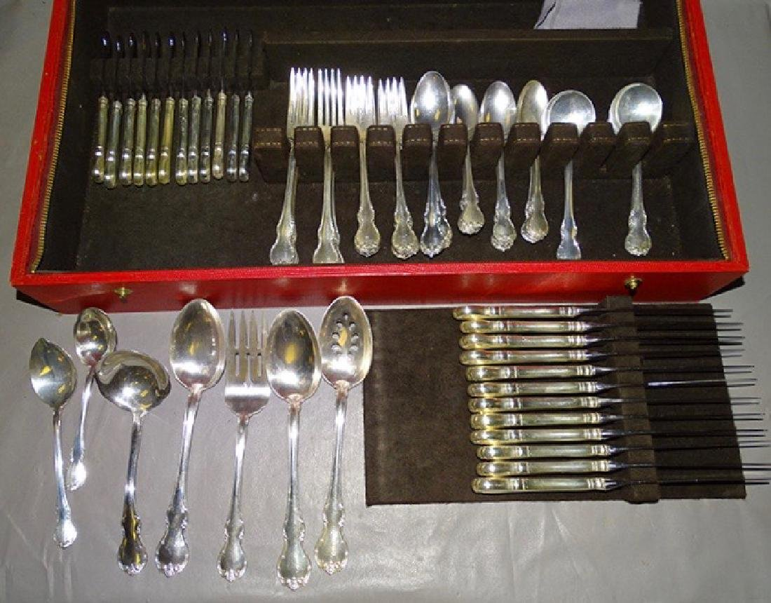 Towle Sterling Silver Flatware Set