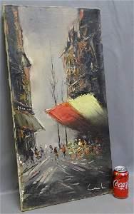 Impasto Style Painting