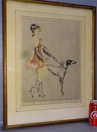 Art Deco Artist Signed
