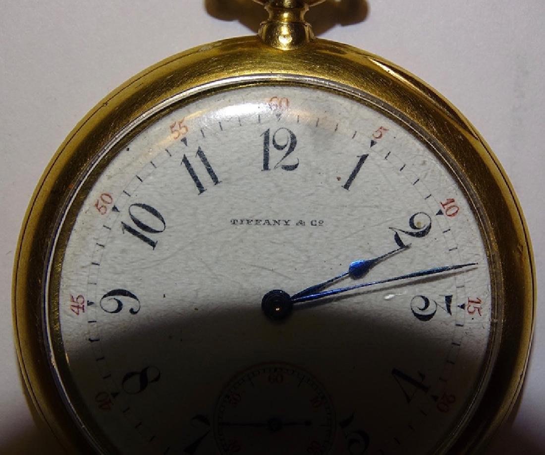 Tiffany Pocket Watch - 2