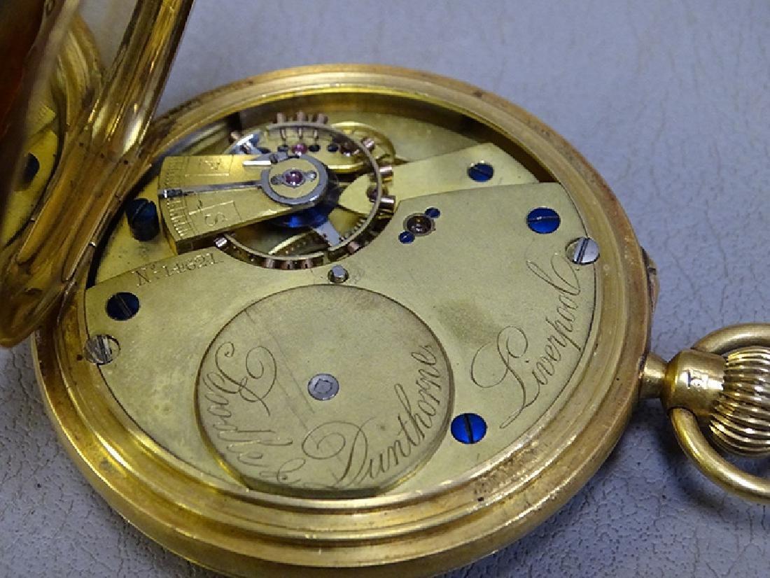 18k Pocket Watch - 4