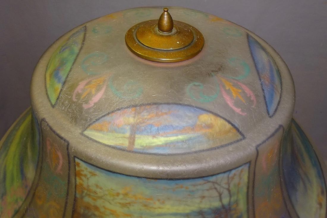 Pairpoint 4 Seasons Reverse Painted Table Lamp - 2