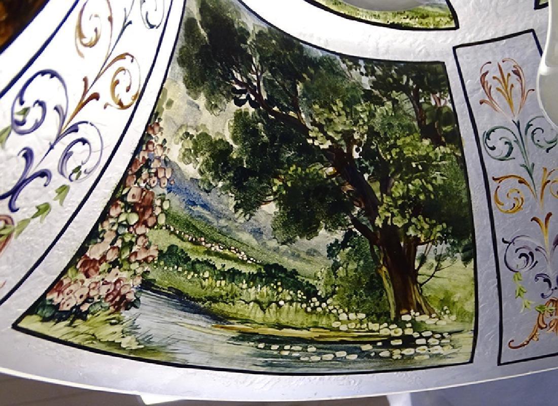 Pairpoint 4 Seasons Reverse Painted Table Lamp - 3