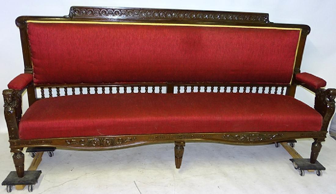 Egyptian Revival Sofa