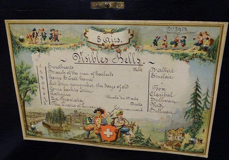 3 Bell 8 Tune Music Box - 3