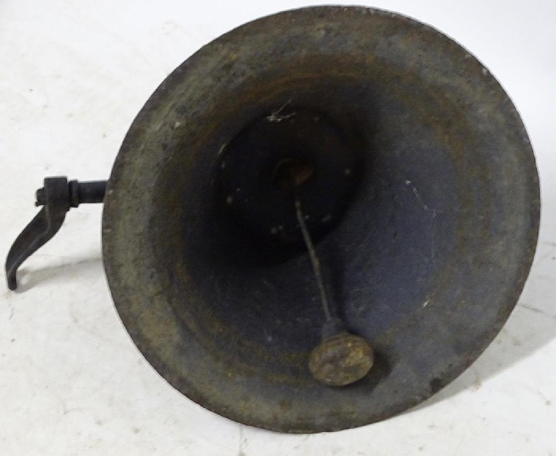 Large 1889 Iron Bell - 3