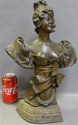 Ch Masse Bronze Bust