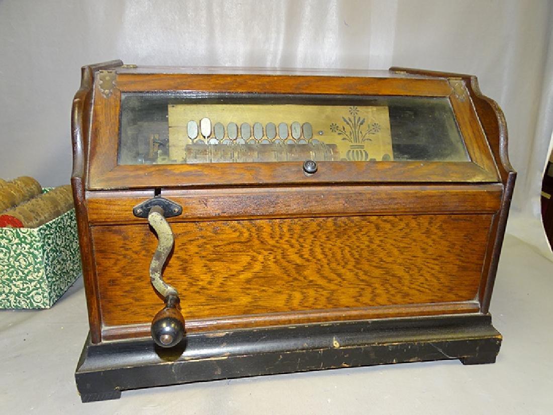 Chautauqua Roller Organ in Oak
