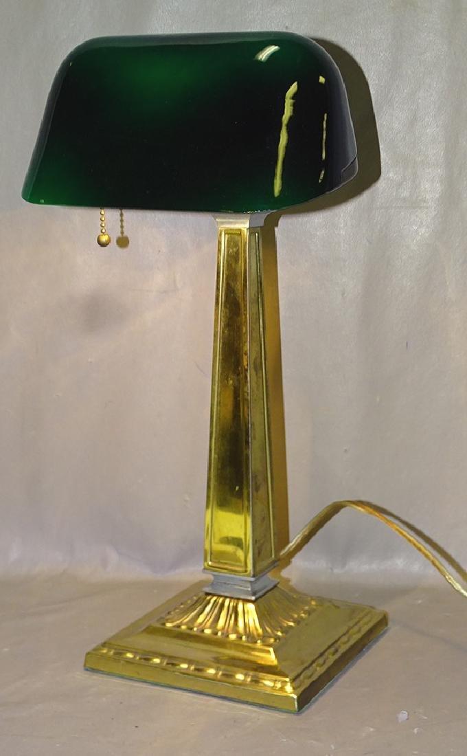 Signed Emerlite Desk Lamp