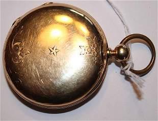 Huge 18k Gold Pocket Watch