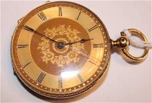 Fabulous 18k Gold Pocket Watch