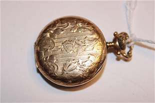 Nice 14k Gold Elgin Hunters Case Pocket Watch