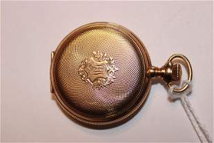 Nice 14k Gold Waltham Pocket Watch